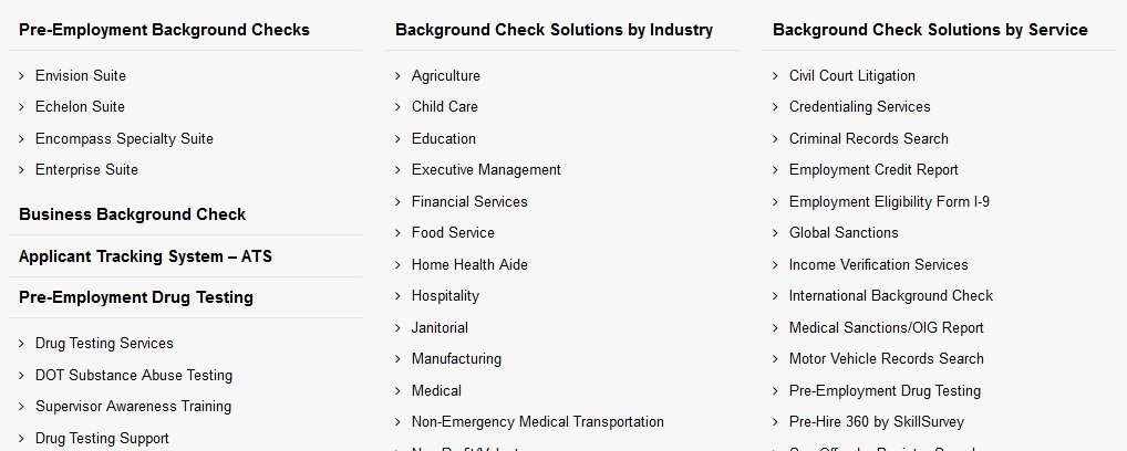 HireSafe Demo - Background Check Products