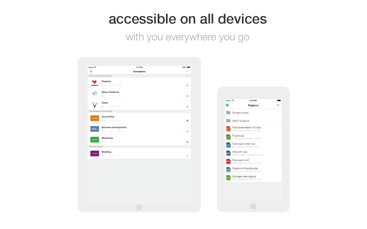 Wimi Demo - Mobile Apps
