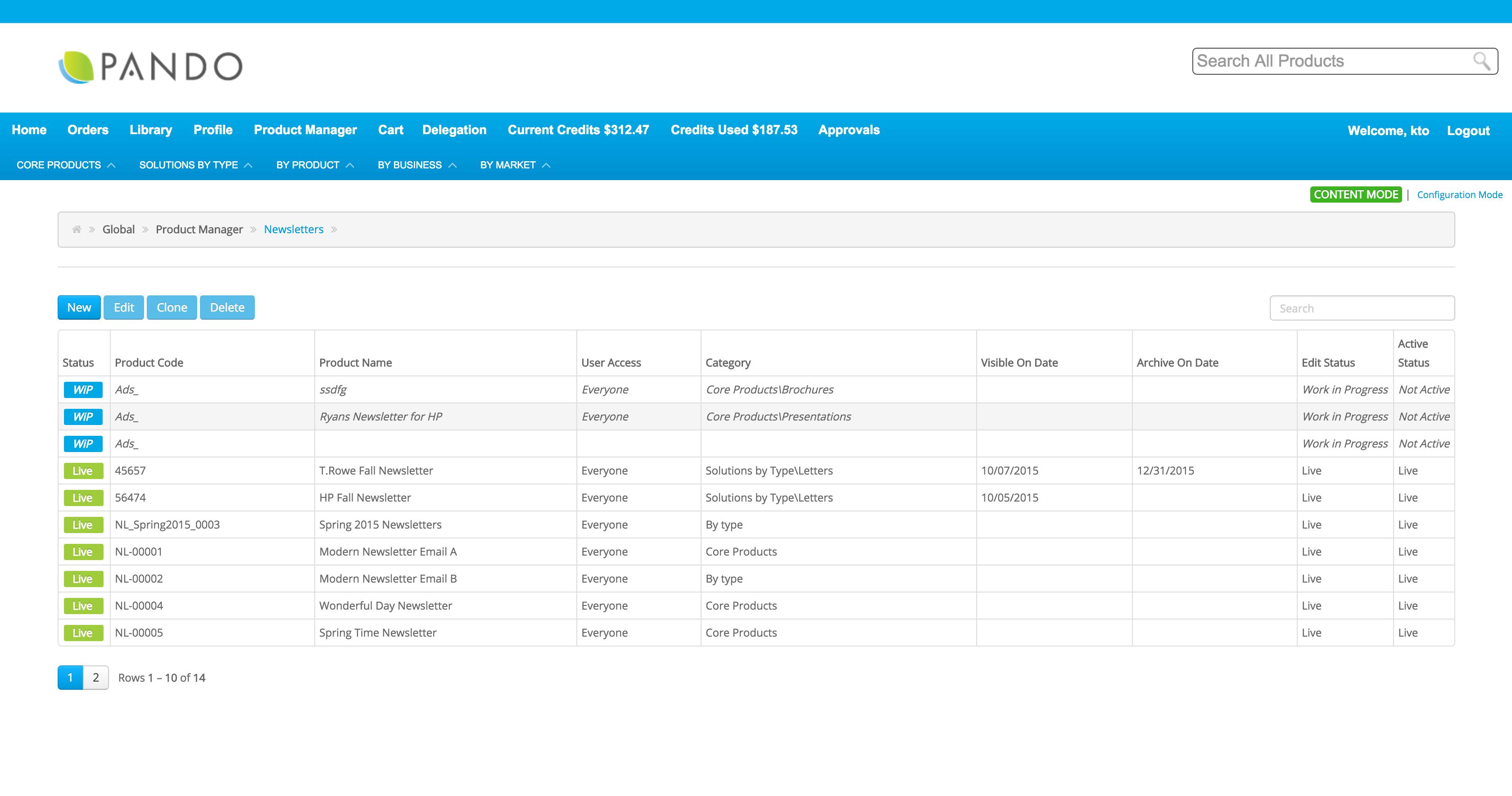 Pando Demo - Pando Platform Product Manager