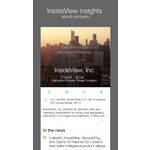 InsideView Mobile Apps Screenshot