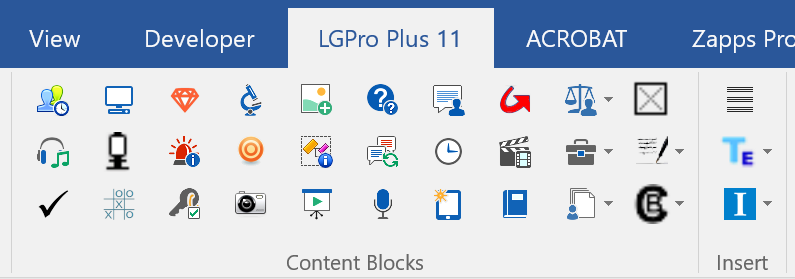 LeaderGuide Pro Plus Demo - 4-ContentBloclksoOnRibbon.png