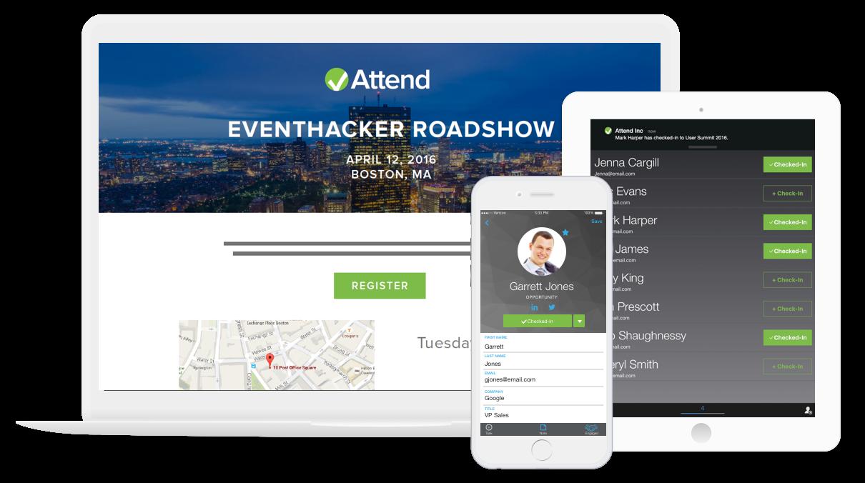 Attend Demo - Revenue Event Marketing Platform