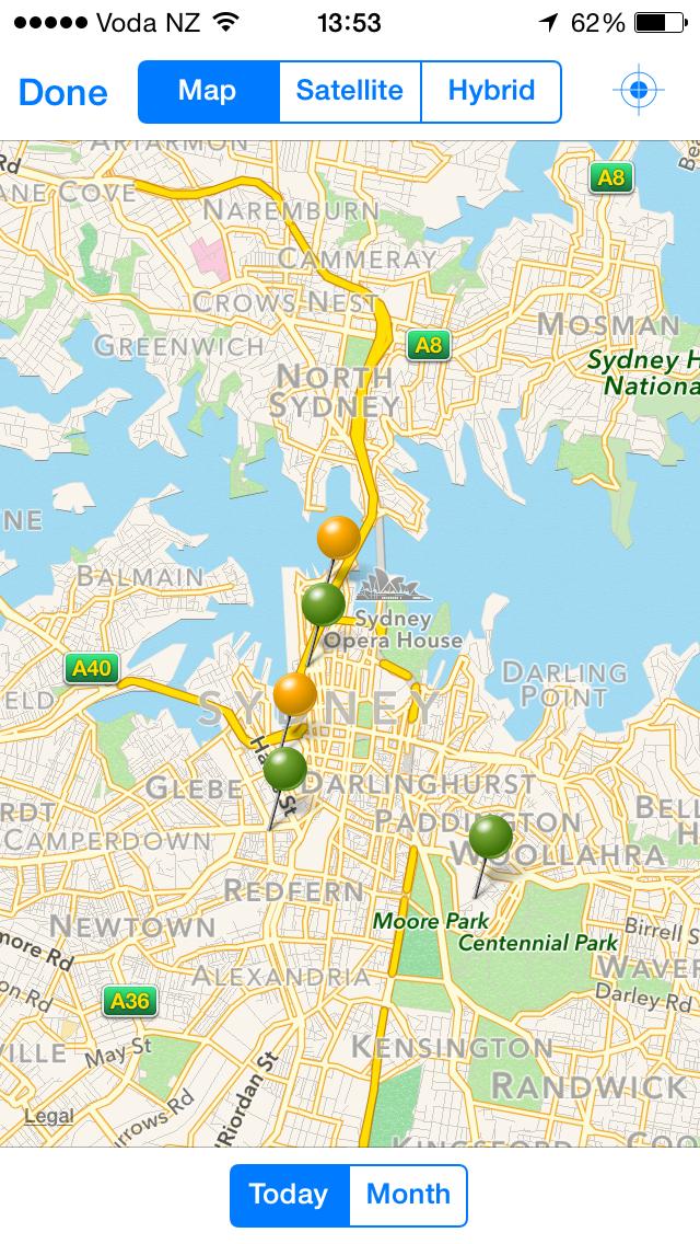 GeoOp Demo - iPhone