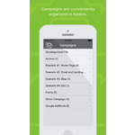 Evergage Mobile Apps Screenshot