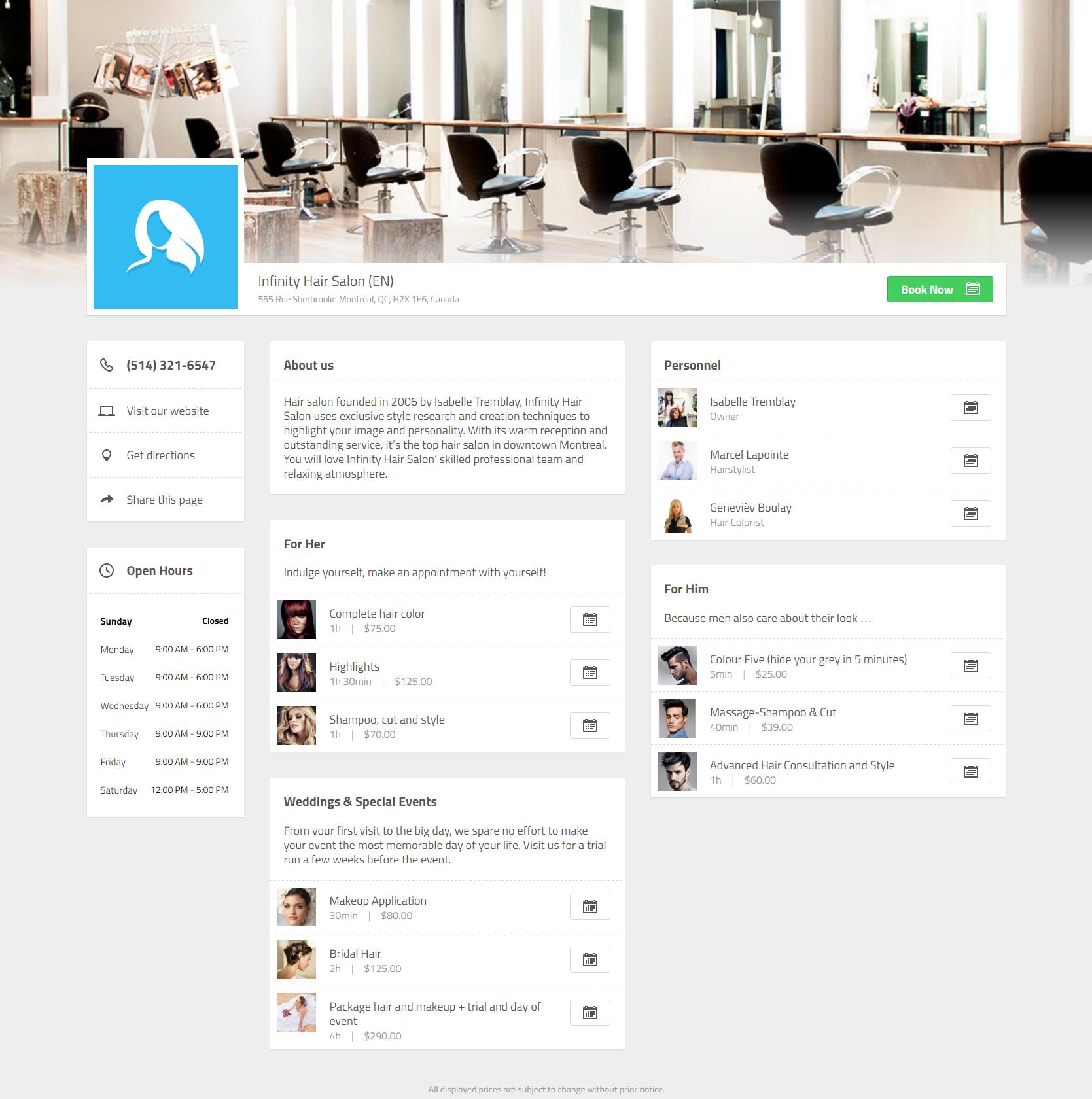 booxi Demo - Automated Website