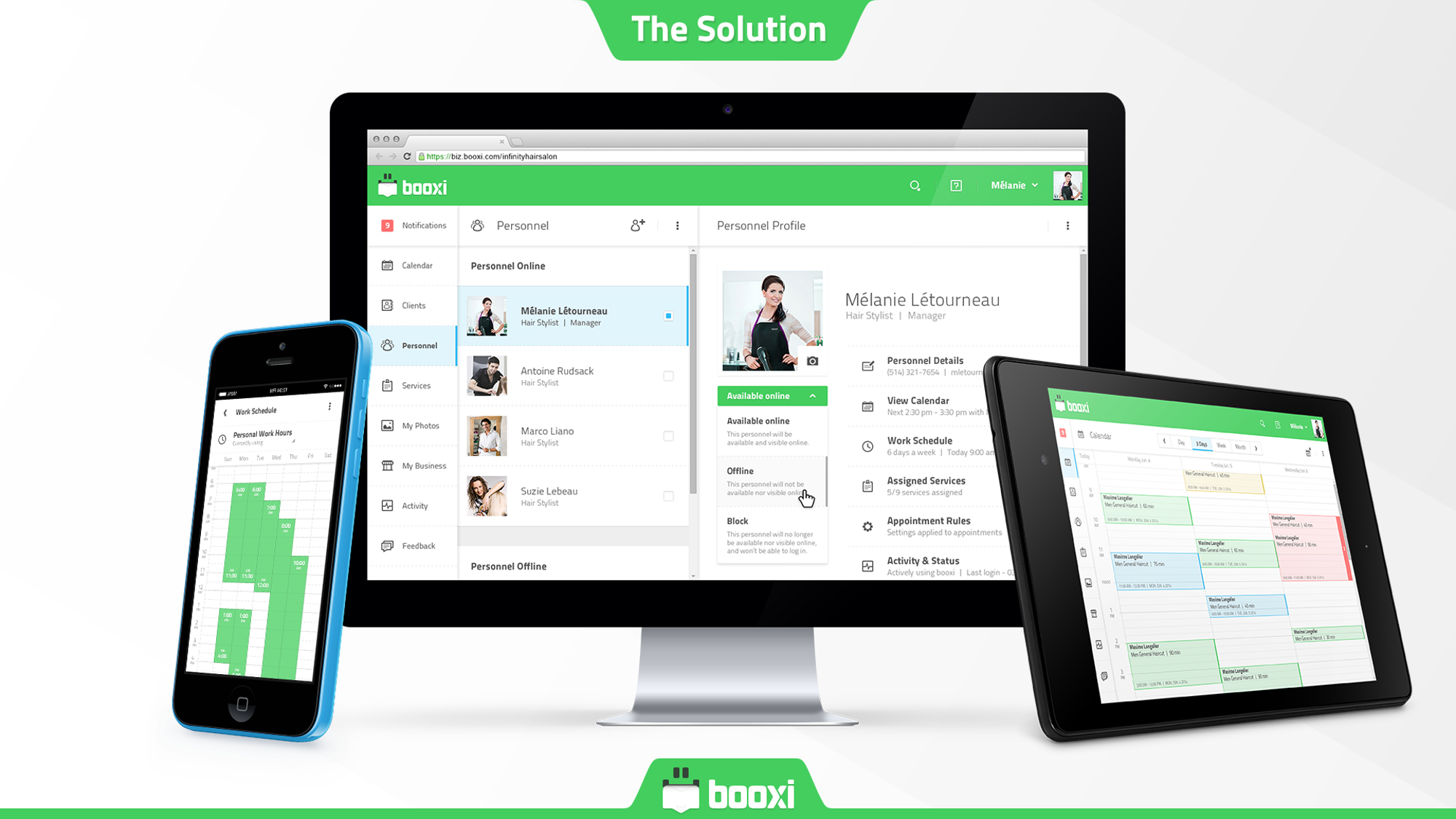 booxi Demo - Smart Appointment Management Solution