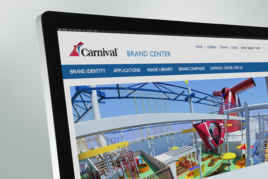 BEAM Brand Center Demo - Carnival Cruise Line Brand Center