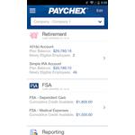 Paychex Flex Mobile Apps Screenshot