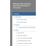 Smartsheet Mobile Apps Screenshot