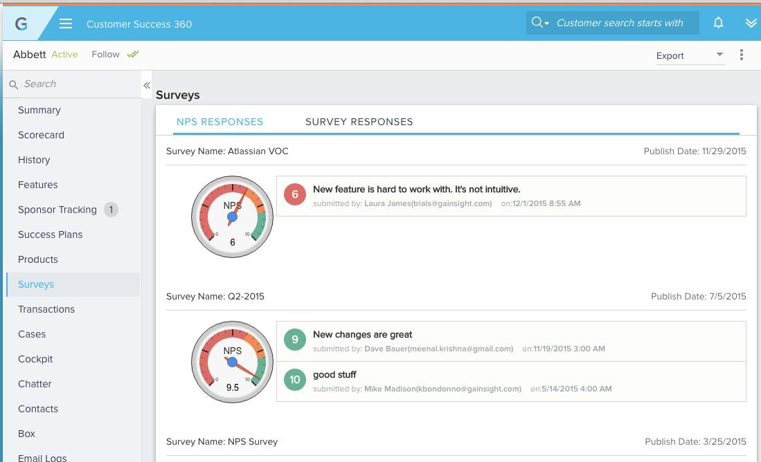 Gainsight Demo - Drive integrated closed-loop feedback- Multi-lingual Surveys