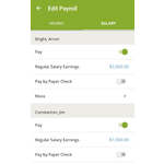 SurePayroll Mobile Apps Screenshot
