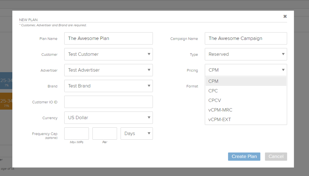 Videology's Converged Advertising Software for Advertisers Demo - New Plan