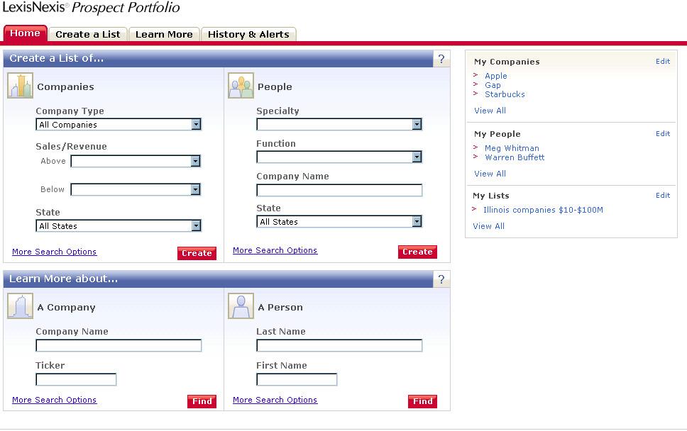 LexisNexis® Prospect Portfolio™ Demo -