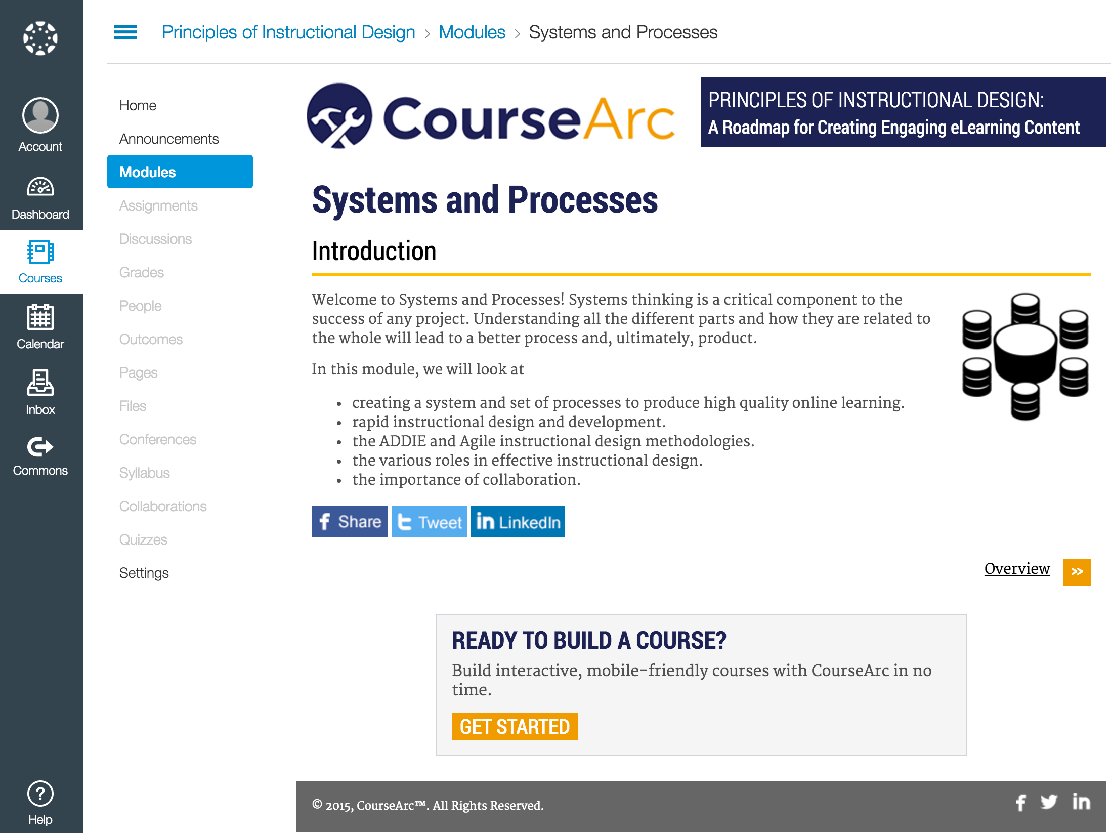 CourseArc Demo - LTI Connection to LMS