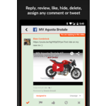 AgoraPulse Mobile Apps Screenshot
