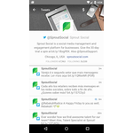 Sprout Social Mobile Apps Screenshot
