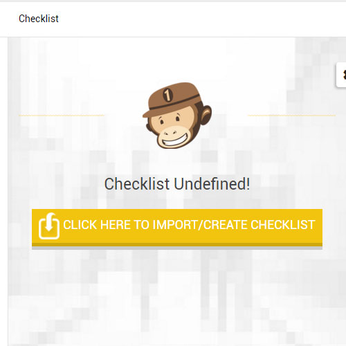 Onechimp Demo - Checklists