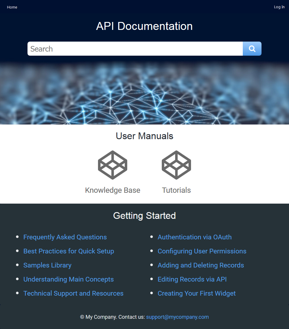 ClickHelp Demo - API Documentation Portal