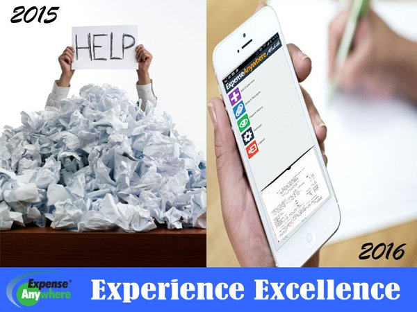 ExpenseAnywhere Demo - Our Mobile App vrs. Paper Based Solutions