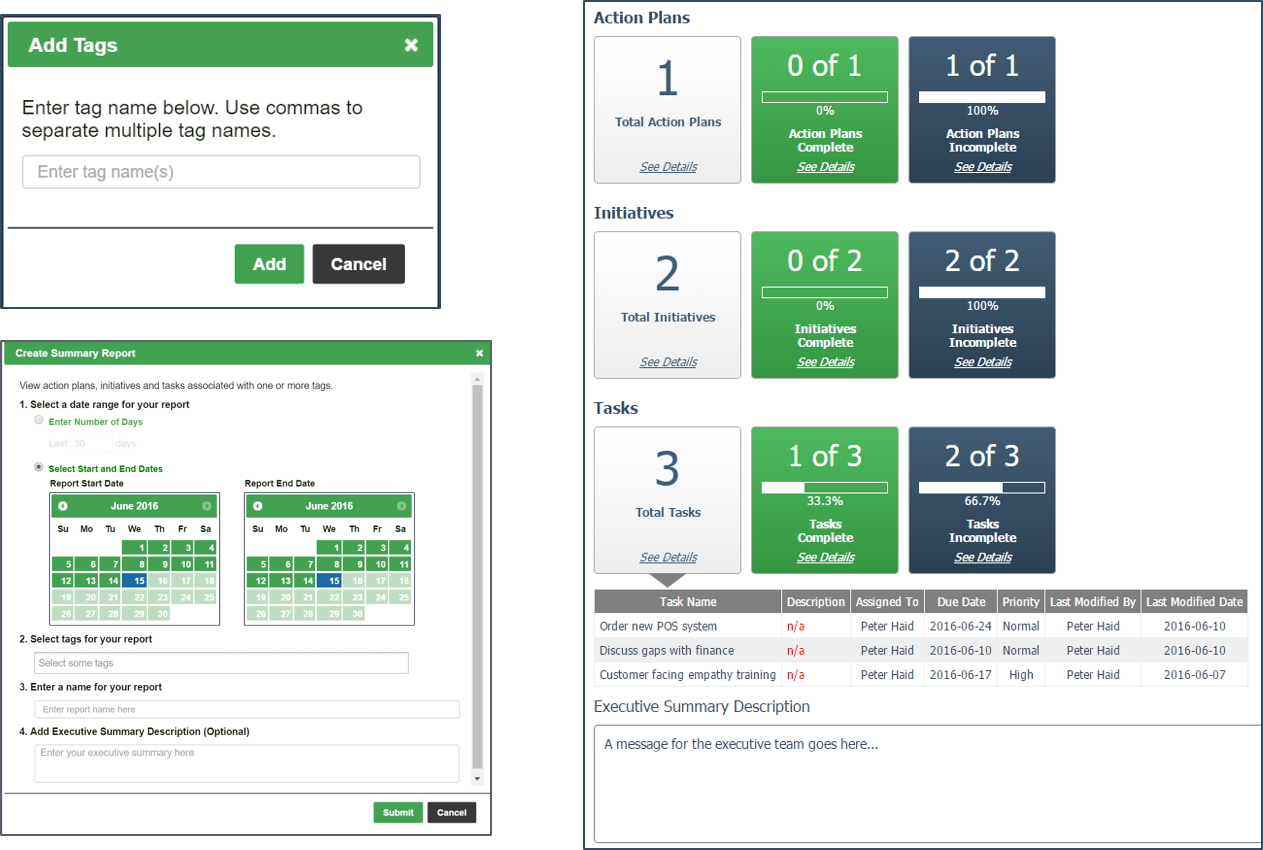 Touchpoint Dashboard Demo - Journey Management
