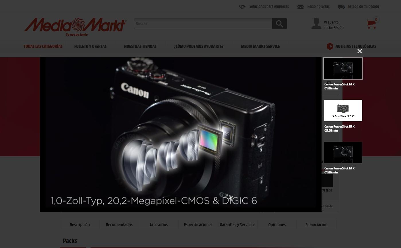 DemoUp Demo - Front End Video Integration on MediaMarkt