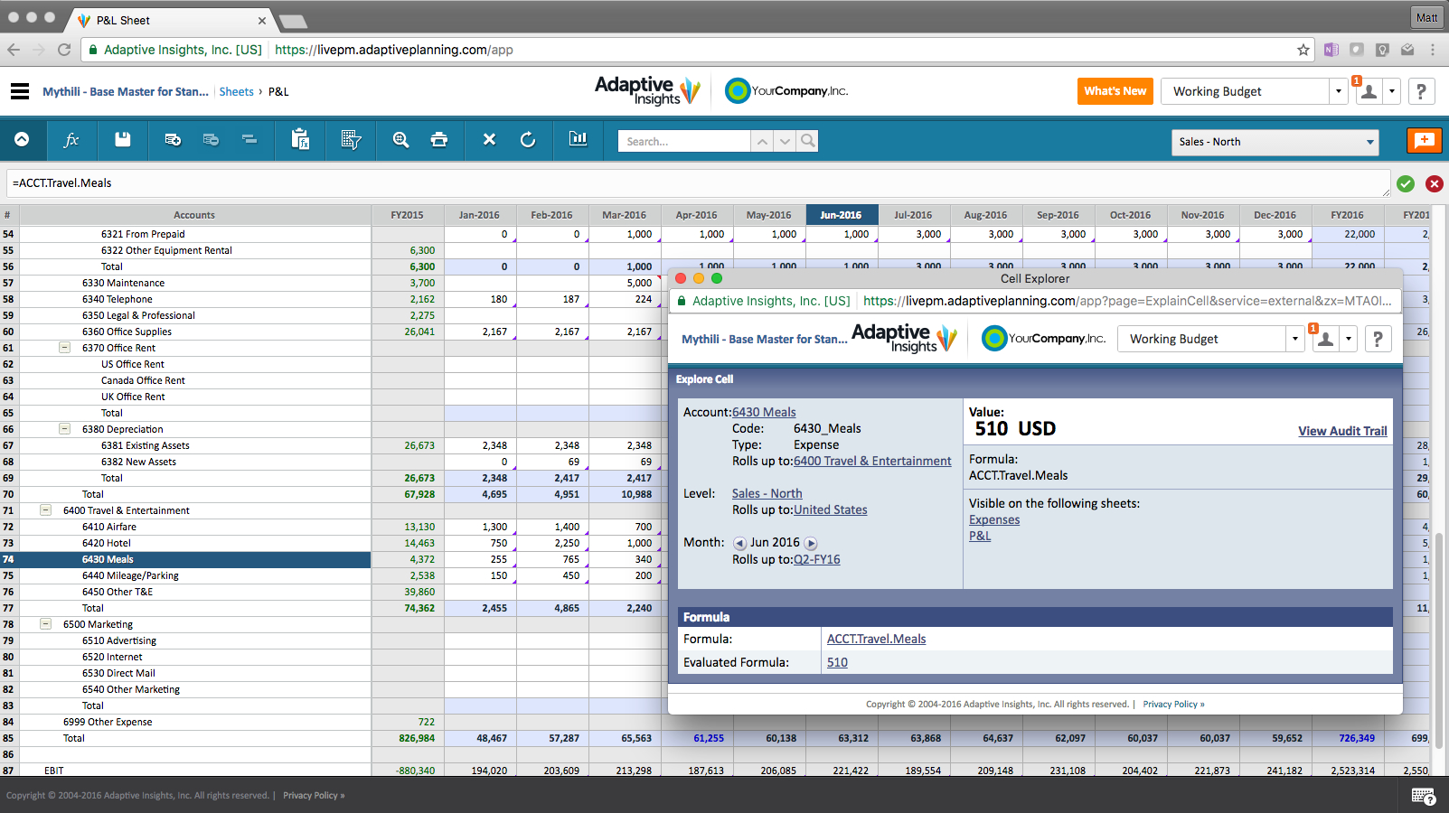 Adaptive Insights Demo - Adaptive Planning, Budgeting Audit Trail