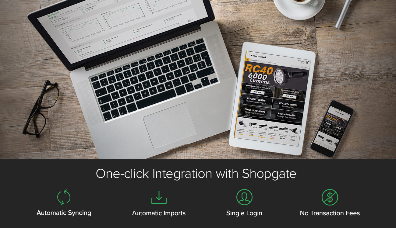 Shopgate Demo - With one-click integration to more than 60 eCommerce and payment platforms