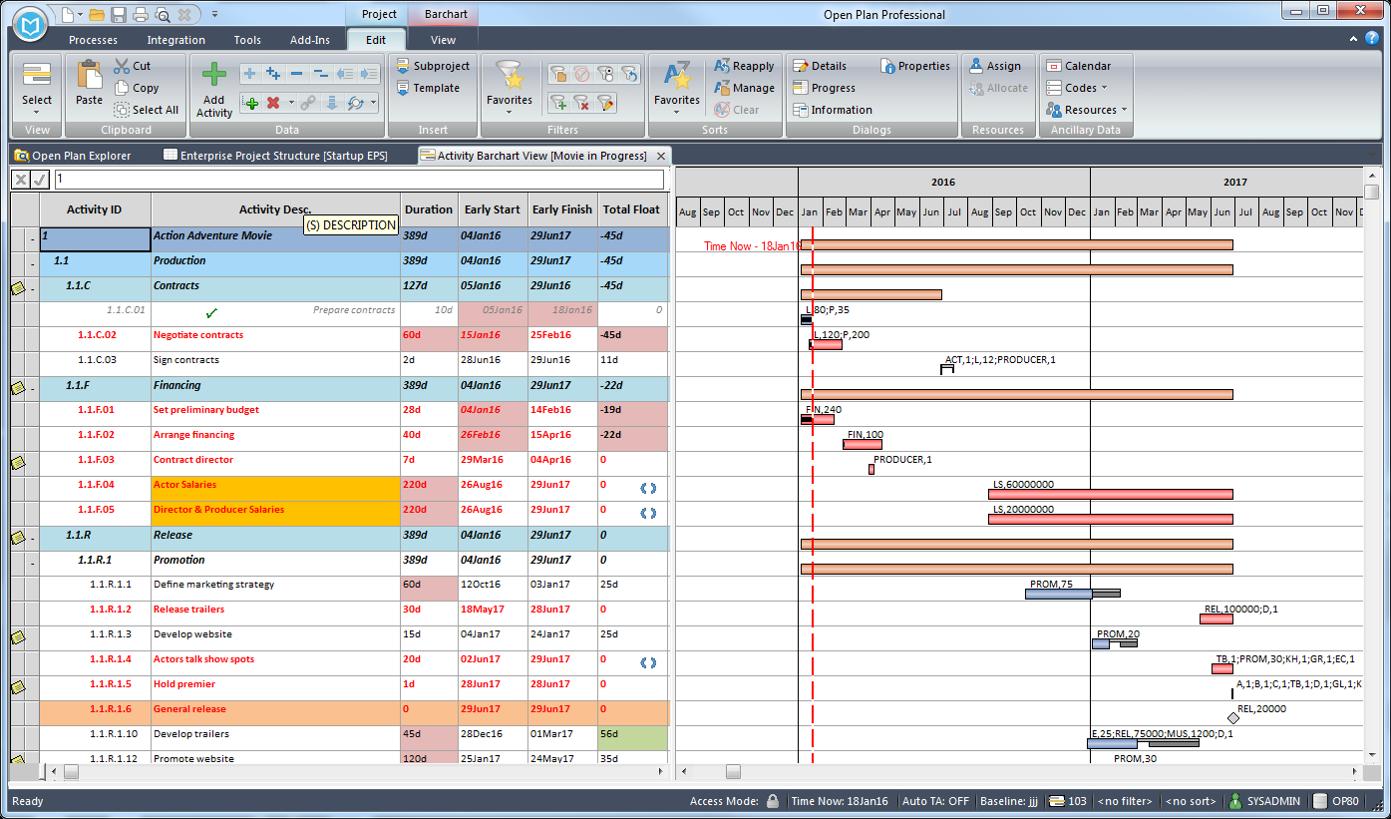 Deltek Project & Portfolio Management Demo - Deltek Open Plan