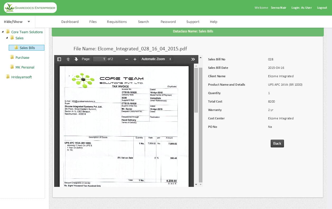 ShareDocs Enterpriser Demo - Universal File Viewer