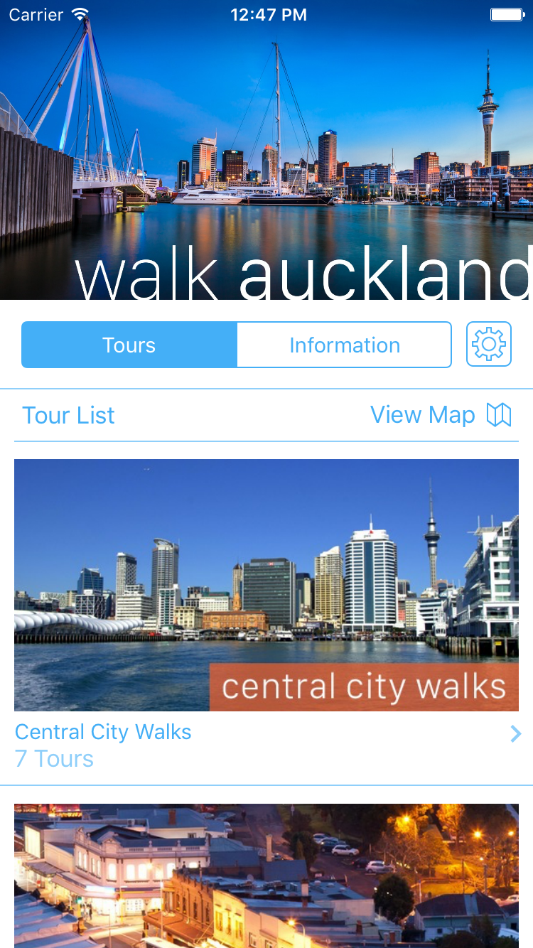 My Tours Demo - My Tours app on iOS