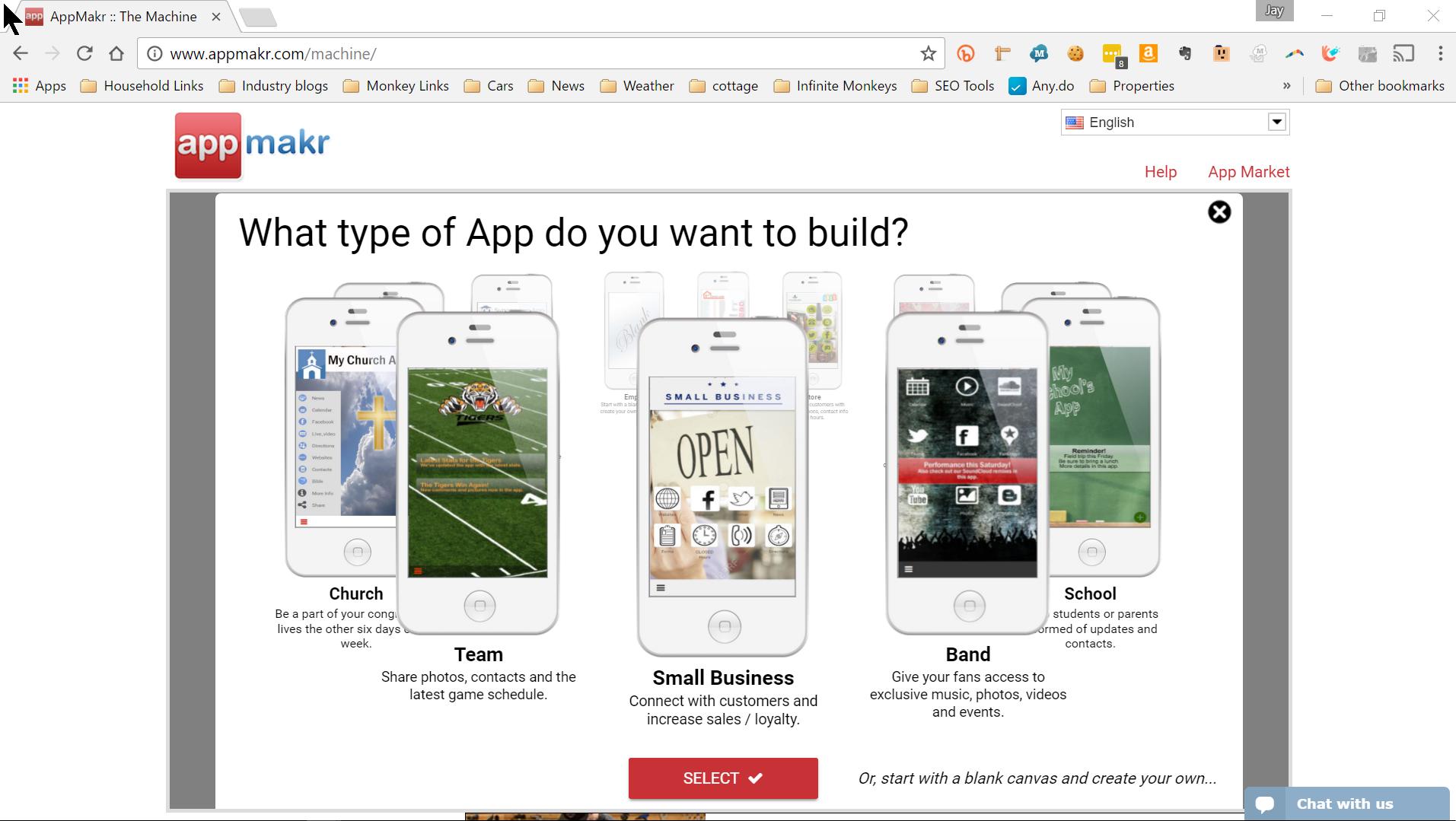 AppMakr Demo - Easy DIY Mobile App Templates