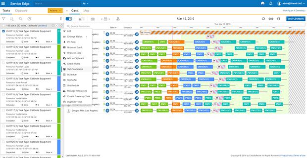 ClickSoftware Demo - Scheduling
