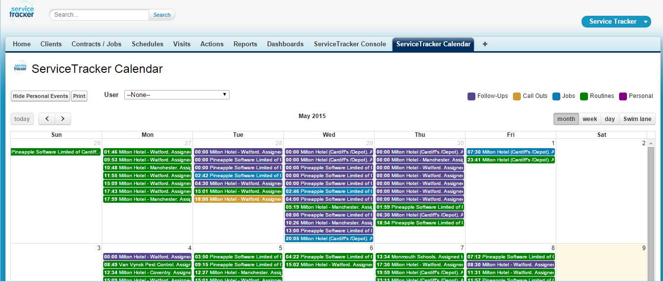 ServiceTracker Pest Control Software Demo - Calendar+Month+View.png