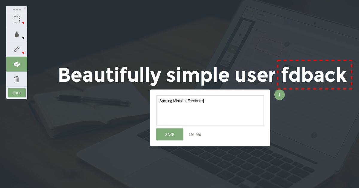 Userback Demo -  The feedback widget