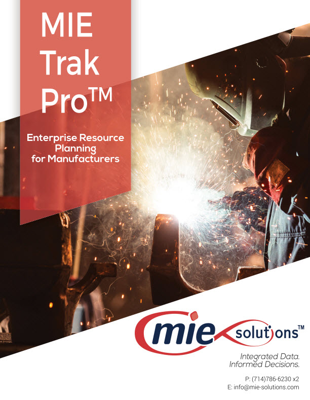MIE Trak Pro Demo - MIE Trak Booklet NEW
