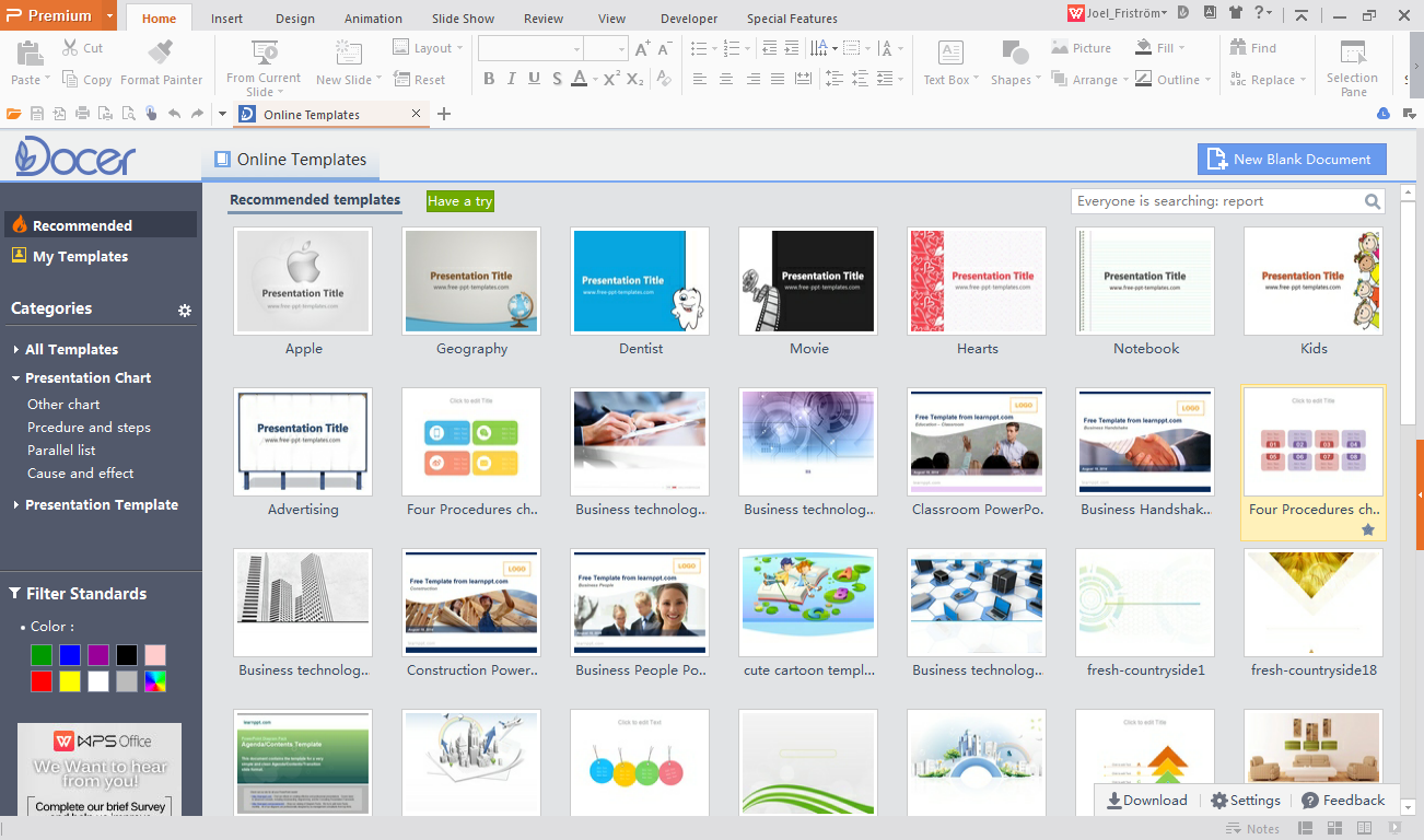WPS Office Demo - Presentation