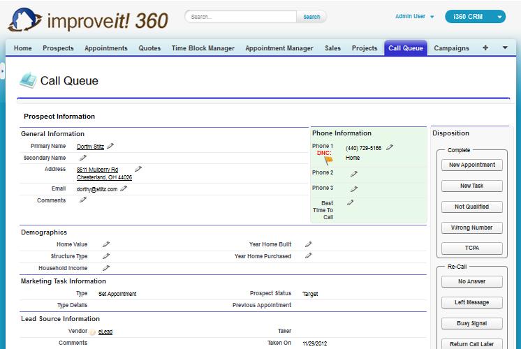 improveit 360 Demo - improveit 360 Call Queue