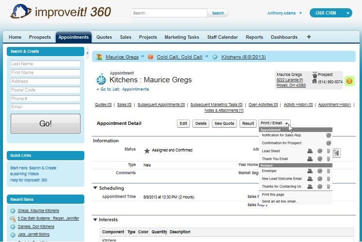 improveit 360 Demo - improveit 360 Appointments