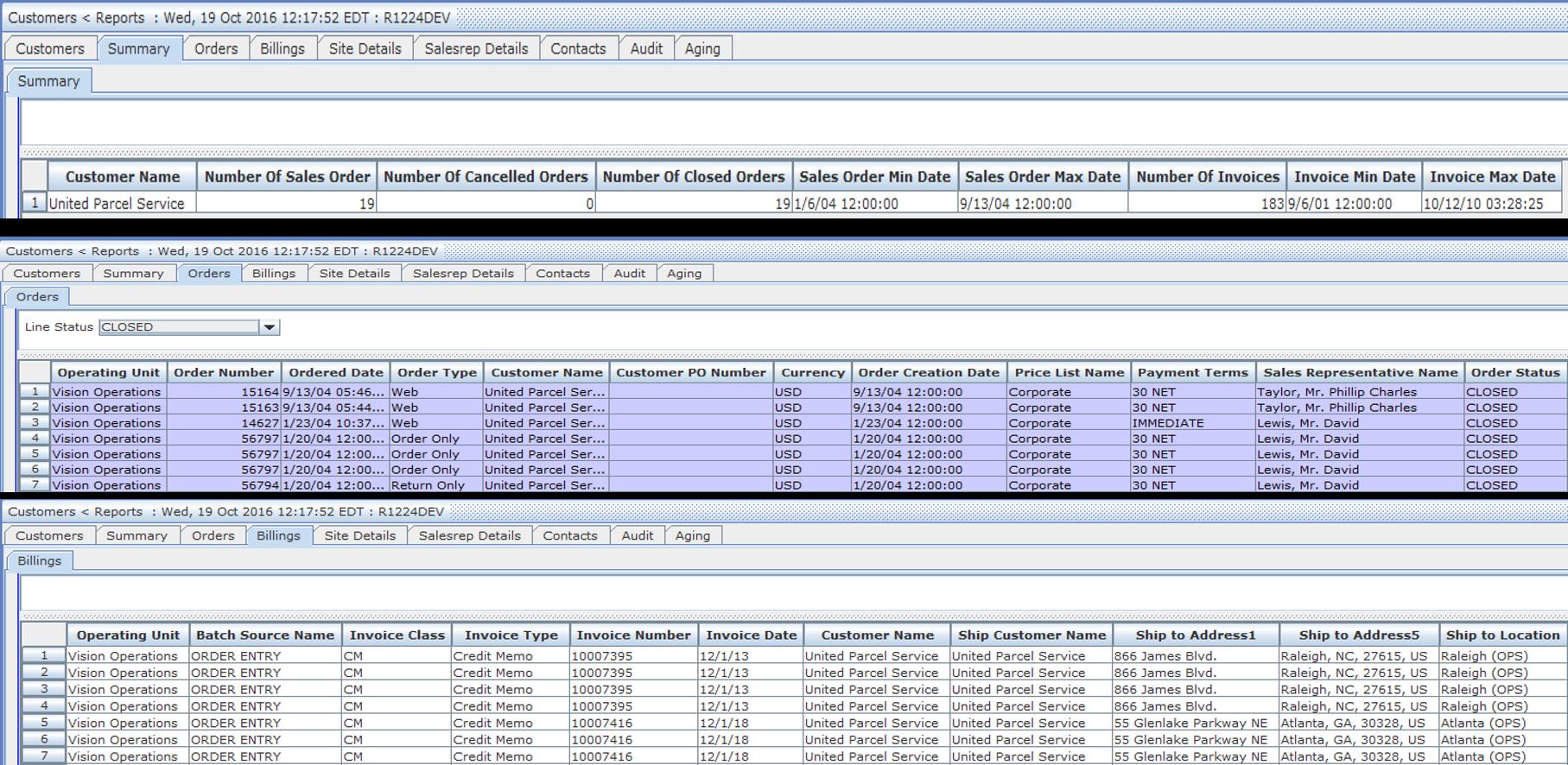 Triniti Master Data Management Demo - 360 Degree Customer view