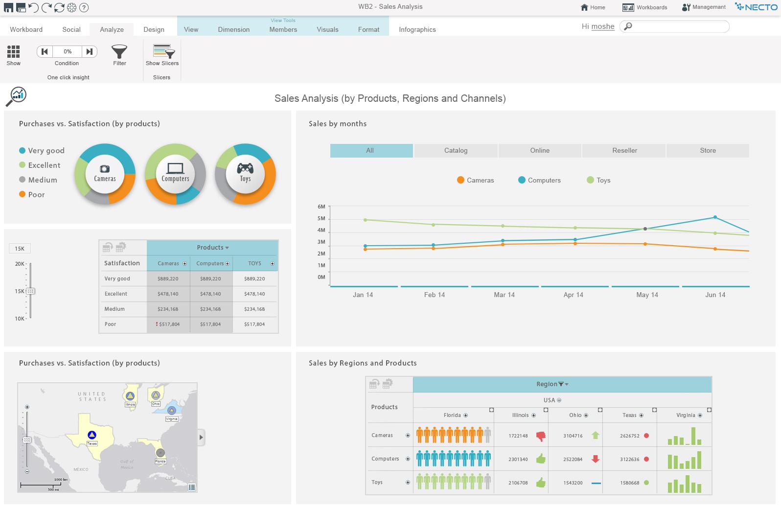 Panorama Necto Demo - Sales Analysis