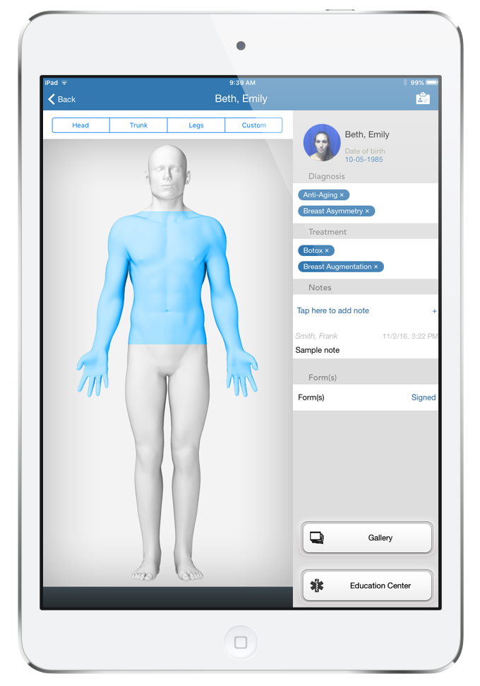 Rxphoto Demo - Medical Spa Software