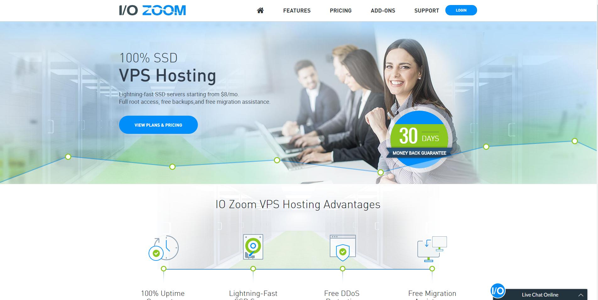 IO Zoom Demo - IO Zoom | SSD VPS Hosting