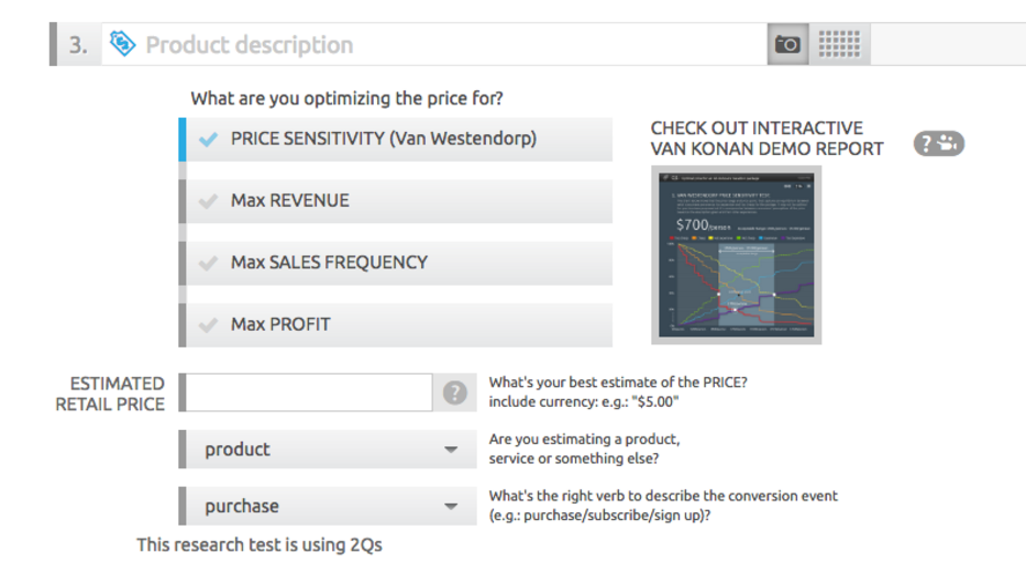 AYTM Demo - Price Optimization Meter