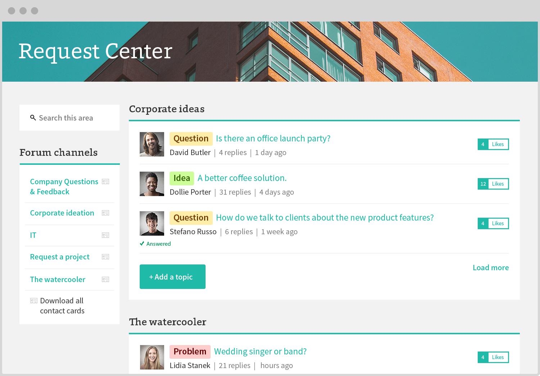 Igloo Demo - Igloo Software Request Center