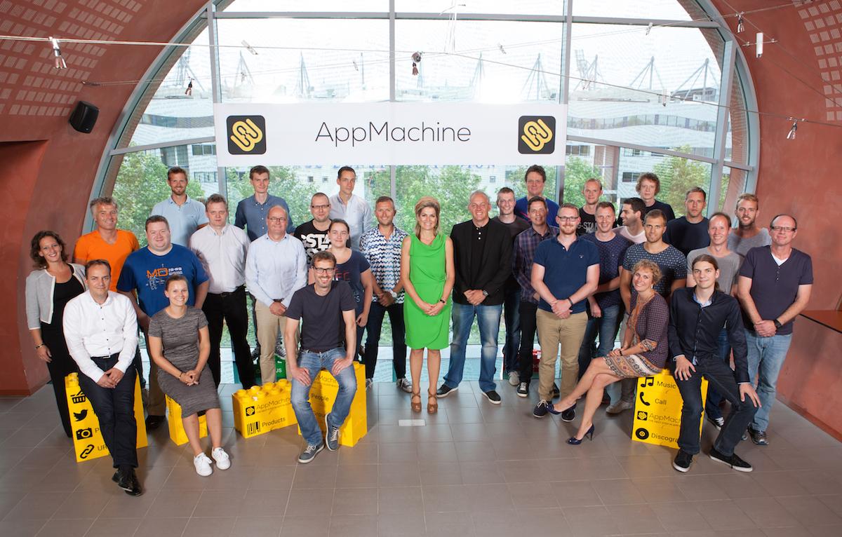 AppMachine Demo - AppMachine team meeting Queen Maxima
