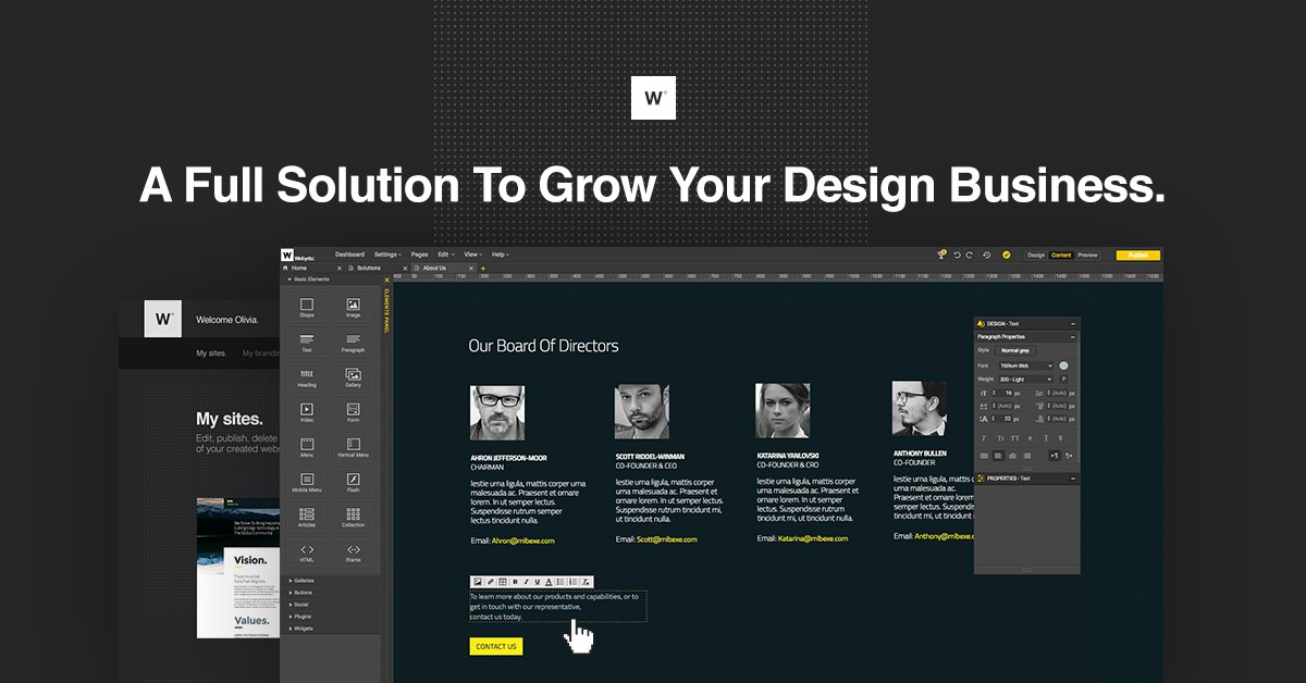 Webydo Demo - An All-in-One Solution for Your Professional Design Needs