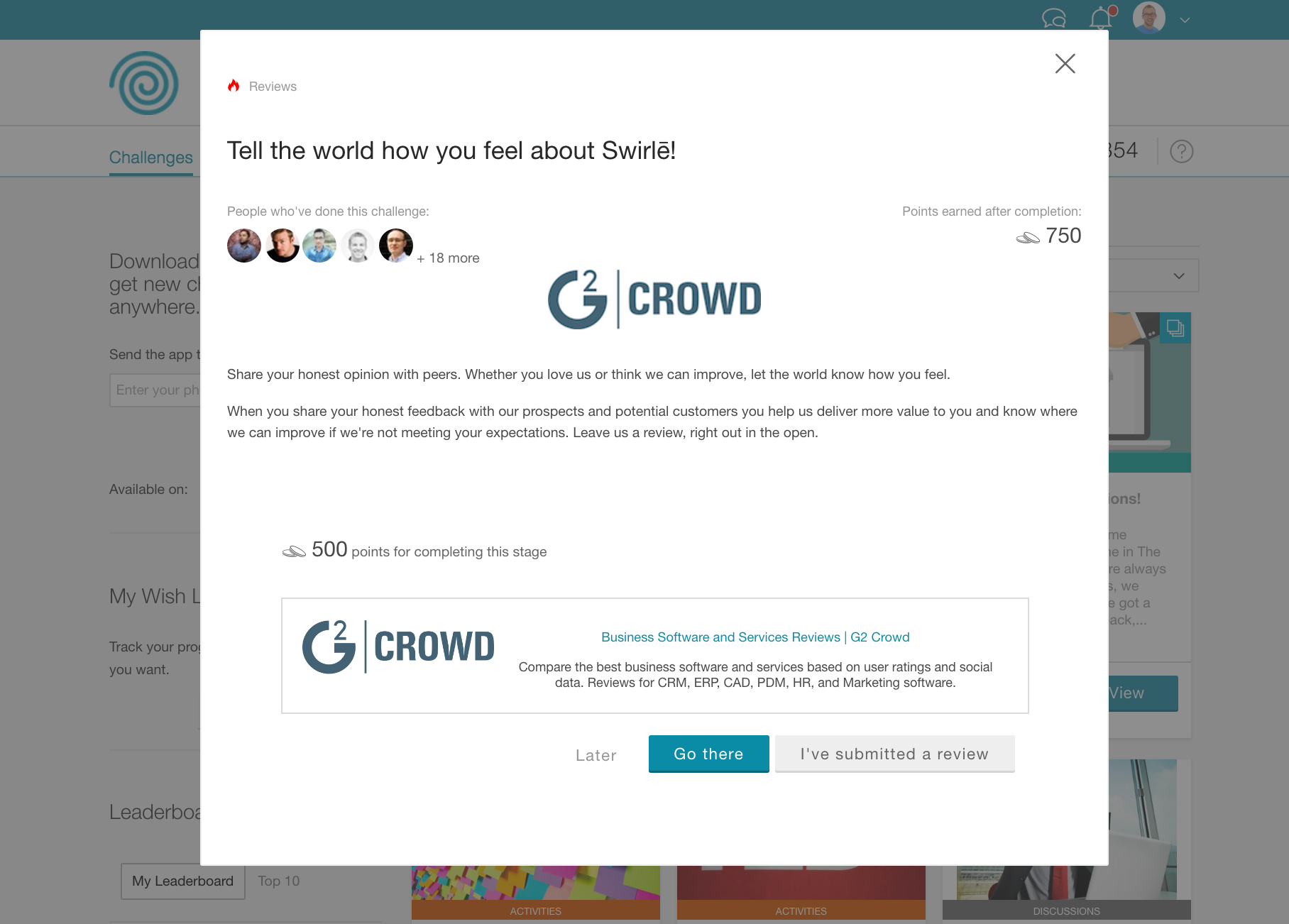 Influitive AdvocateHub Demo - Expand your reach through trusted channels