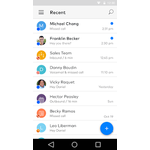 Dialpad Mobile Apps Screenshot
