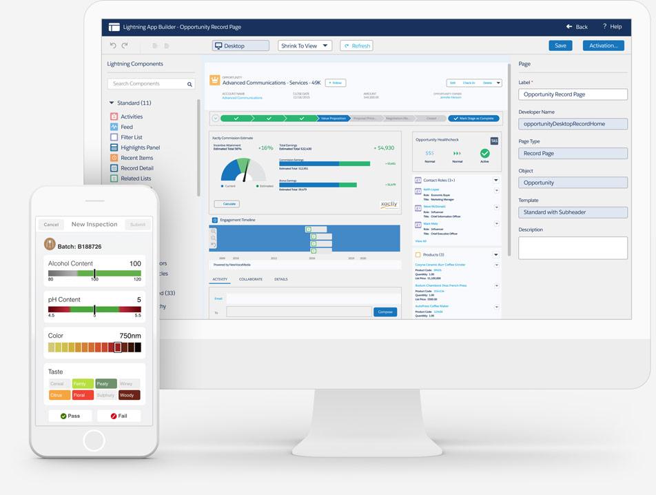 Salesforce Platform: Shield Demo - Lightning App Builder