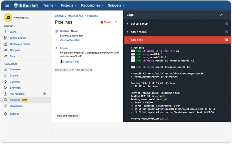 Bitbucket Demo - Pipelines
